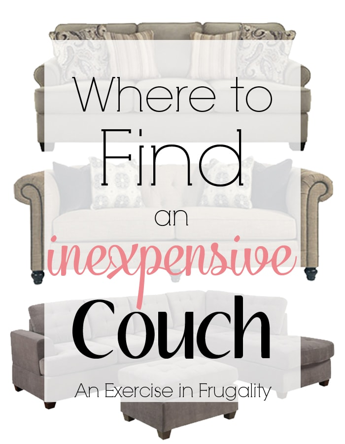 buy inexpensive couch