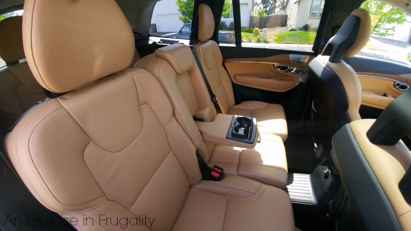 Volvo Backseat
