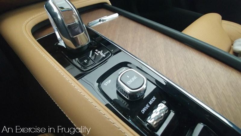 Volvo XC90 Center Console