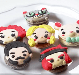 Alice Through the Looking Glass Macarons