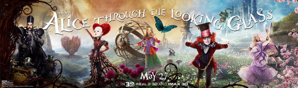 Alice Through the Looking Glass in Theaters