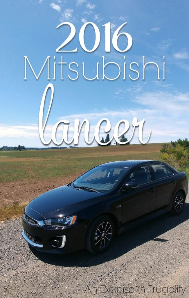 2016 Mitsubishi Lancer SEL-this car has it all-sporty, affordable and SAFE! We loved driving it, and now my husband wants one even more than he did before we got to test drive it for a week. #DriveMitsubishi #ad