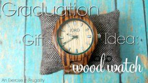 Graduation Gift Idea: JORD Wood Watches