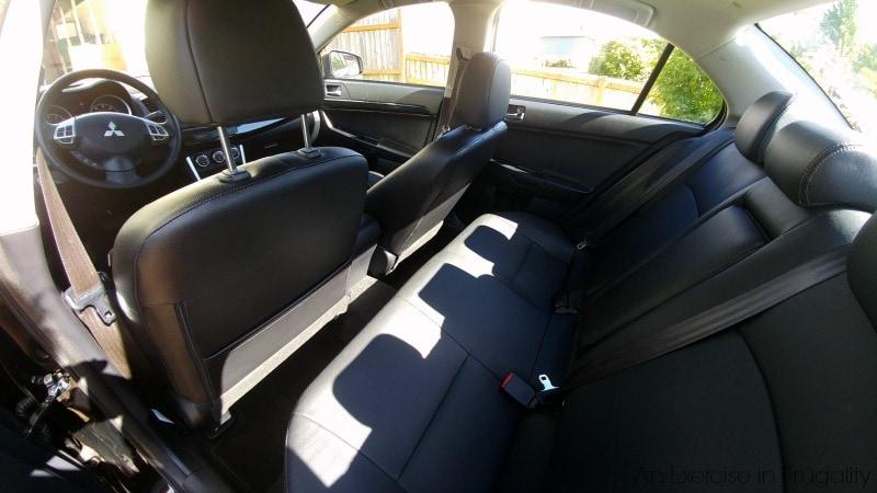 Mitsubishi Lancer Backseat