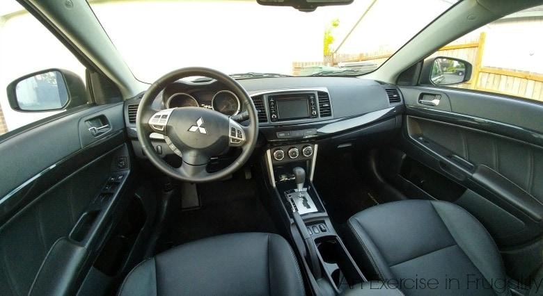 Mitsubishi Lancer Front seat