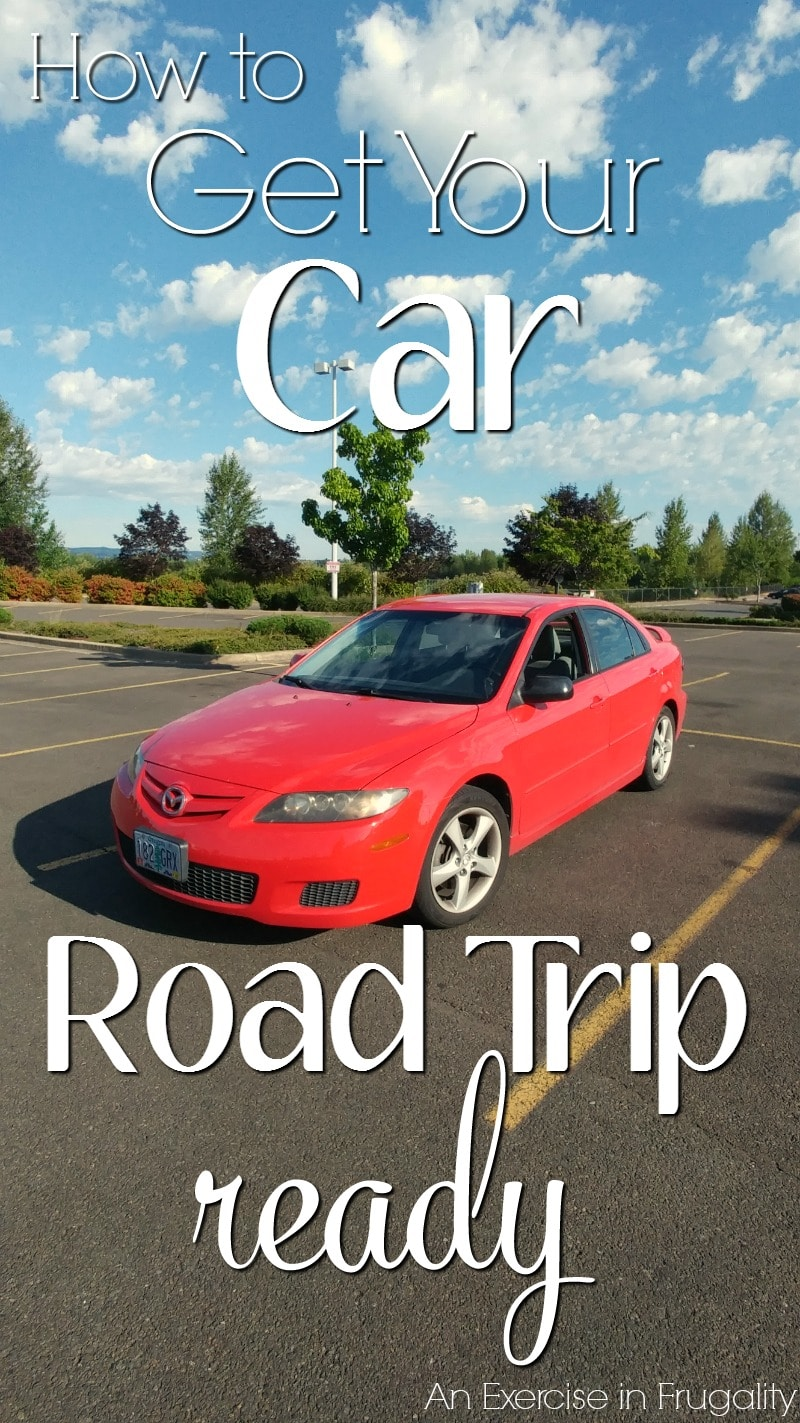 How to Get Your Car Road Trip Ready | Before you take your next road trip, you need to check these items to make sure your car is in top working order before you pull out of the driveway!