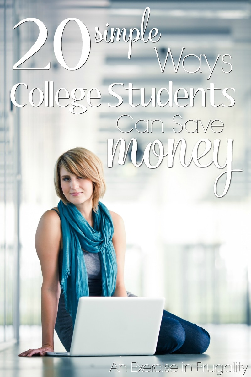 How to Save Money in College-this is a must-read for any college-bound students whether freshmen or upper classmen. Lots of excellent tips for the broke college kids (and their parents)!