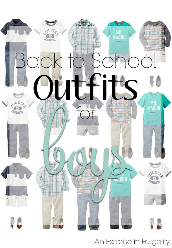 Back to School Outfits for Boys