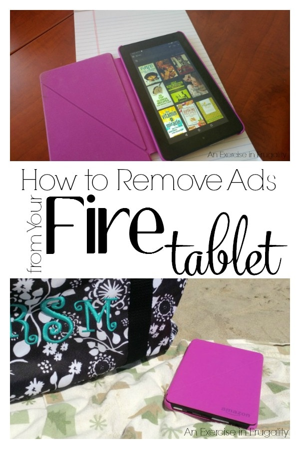 how to remove ads from fire tablet