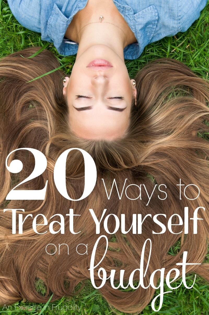 """20 Ways to Treat Yourself on a Budget- Sometimes when money is tight, we forget that we can still treat ourselves without spending a lot. Other times we splurge in the name of """"treating ourselves"""" and wind up making our financial situation worse. These 20 ways you can treat yo'self will cost little to no money, but they'll make you feel like a million bucks!"""