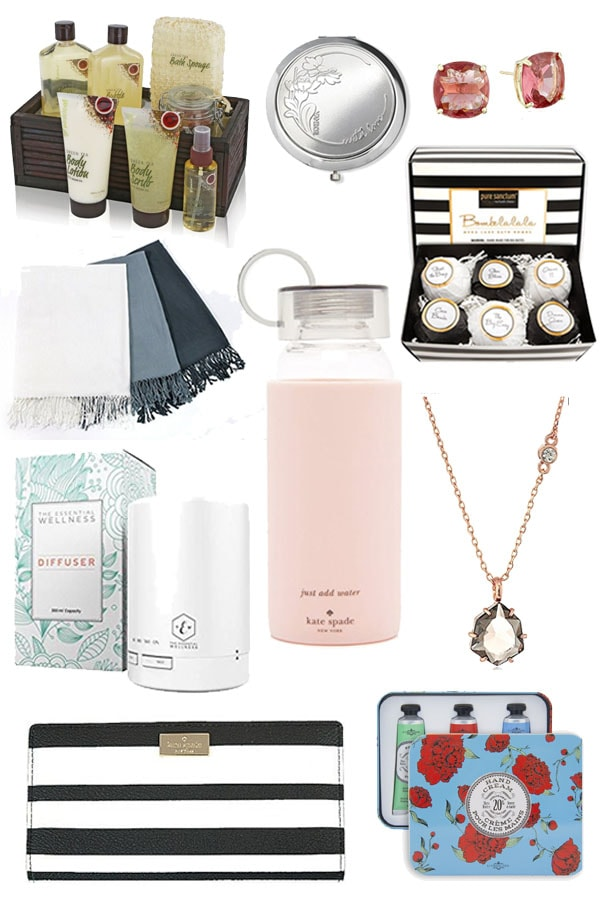 Gift Ideas for Her Under $50-The perfect budget friendly gifts for all the women in your life. This holiday gift guide features some fantastic finds that are a bargain but LOOK like a million bucks!