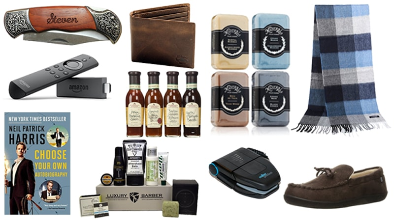 Gift Ideas for Him Under $50- Searching for the perfect gift for your husband, father, coworker or friend? Look no further! These gift ideas are perfect for all the men in your life, and at under $50 each, you can spoil them without hurting your budget!