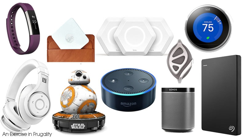 Gift Ideas for Tech Lovers! Tech the halls! The holidays are here and technology fans are rejoicing. So many awesome tech gadgets this year, and at least half of them are on my wishlist including that Fitbit Alta!