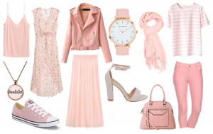 How to Wear Baby Pink (and Still Look Like a Grown Up)- I know a lot of grown women who think pastel pink is too girly or frilly. Not true! It can be dressed up or down and even be worn as a neutral!