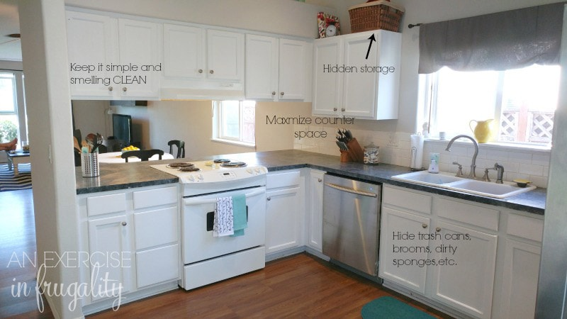 how to stage your kitchen