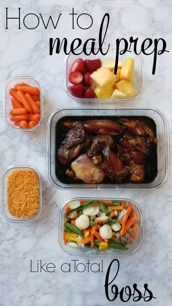How to Meal Prep Like a Total Boss: Preppin' ain't easy, but with the right strategy and the right tools, you can make meal prep a breeze! menu planning | clean eating | home cooking | family | budget | dinner | lunches | on the go |