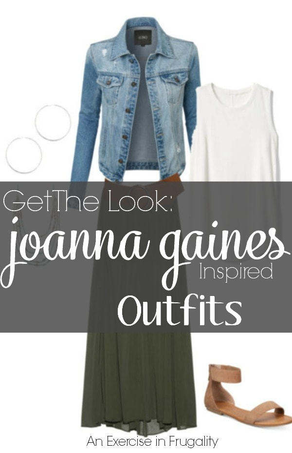 Joanna Gaines' Style on a Budget- Today's frugal fashion looks are Joanna Gaines inspired outfits that are totally affordable. Even if you're on a tight budget, you can make a Joanna Gaines inspired capsule wardrobe for cheap.