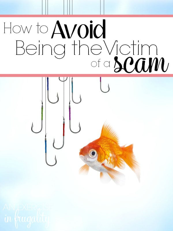 Scams: Don't Become a Victim! There are so many scams and scammers out there. Find out how to protect yourself. These are great tips!
