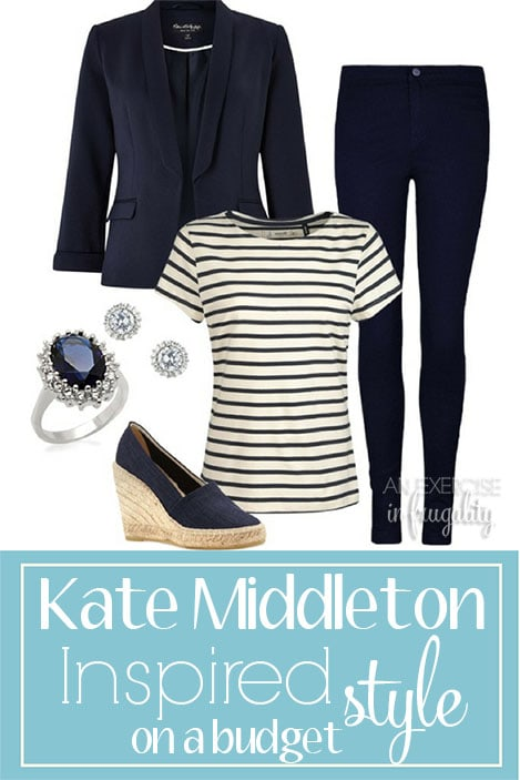 Kate Middleton Style on a Budget- Dress like a royal princess for less! These looks are inspired by the princess herself. Kate's style is effortless, classy and timeless just like her beauty. These outfits are perfect for any budget and can create a great capsule wardrobe perfect for SAHMs and career women. Great date night, casual and party outfits!