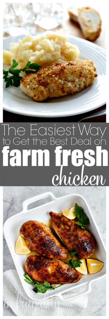 How to Get the Best Prices on Chicken- We save so much money on chicken from Zaycon Fresh. Bulk chicken direct from the farm at amazing prices. Plus 50 mouthwatering chicken recipes that are perfect for easy weeknight meals!