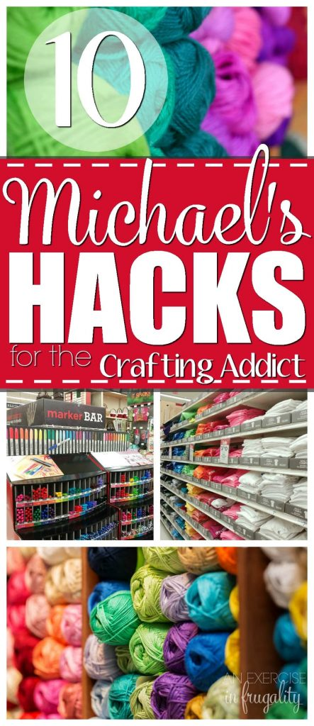 10 Michael's Hacks for the Crafting Addict-If you are a serious crafter, chances are you spend a lot of time (and money) at Michael's. But your hobby doesn't have to put you in debt. With these tips you can save a TON of money at Michael's!