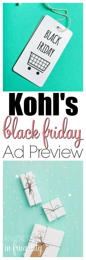 Kohl's Black Friday Ad Preview- get a jump start on your holiday plans. Tons of great gift ideas for your Christmas shopping. Whether you go on Thanksgiving or Black Friday, or choose to shop online for Cyber Monday, this has all the hottest gifts for your kids, gifts for him, gifts for her and more! #Kohls #shopping #deals #blackfriday #giftideas #decor ##electronics #toys