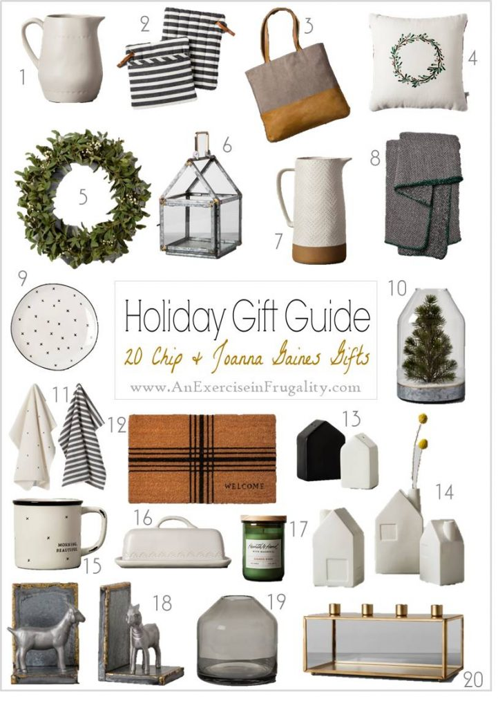 Fixer Upper Holiday Gifts for HGTV fans- If you have someone on your Christmas list who lives for Joanna Gaines, these Hearth and Hand with Magnolia items from Target are going to be the perfect holiday gift idea! #Christmas #holiday #giftideas #JoannaGaines #FixerUpper #Ad