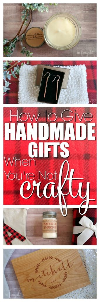 How to a Give Handmade Gift When You're Not Crafty- There's so many amazing crafters and makers out there, you don't have to fret about gift ideas! Give someone a unique, handmade, personalized gift this Christmas. You'll find an astounding variety on Amazon Handmade! #AmazonHandmade #IC #ad