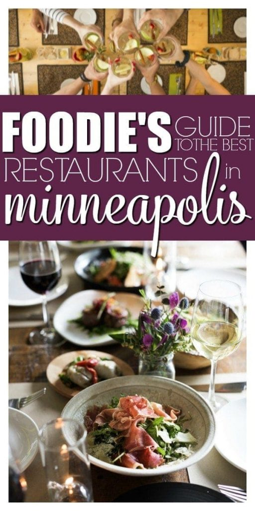A Foodie's Guide to the Best Restaurants in Minneapolis - with Super Bowl LII Coming to Minneapolis, we are welcoming travelers and tourists with open arms! If you're visiting Minnesota, there's tons of great restaurants in the Twin Cities area. Here's 15 of our favorite picks for the Best Restaurants in Minneapolis!