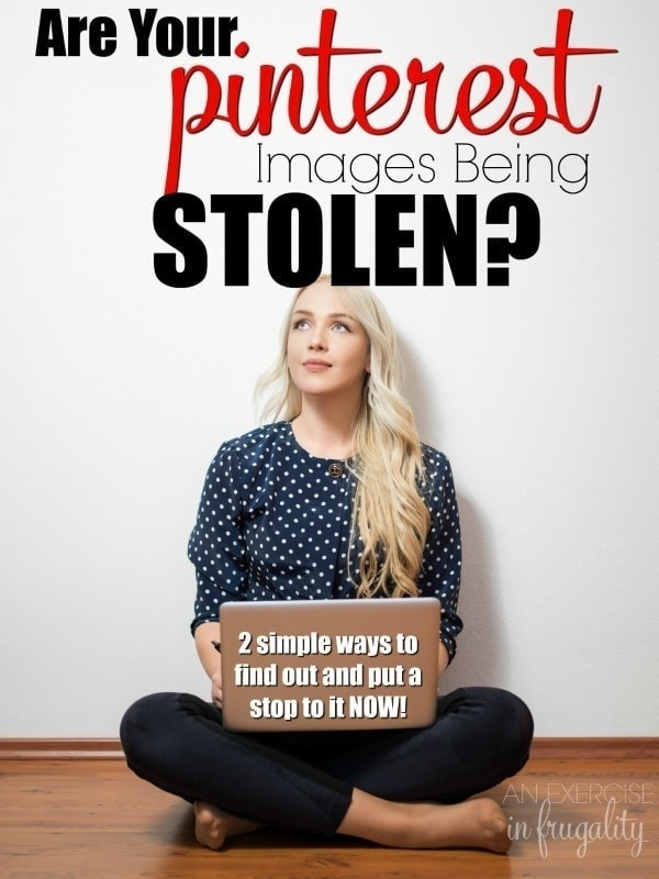 How to Find Stolen Pinterest Images- if you've been the victim of copyright infringement or intellectual property theft by these image scrapers on Pinterest, it's time to fight back! Find out how you can find your stolen images on Pinterest and how to file a copyright infringement complaint. MUST READ for bloggers!