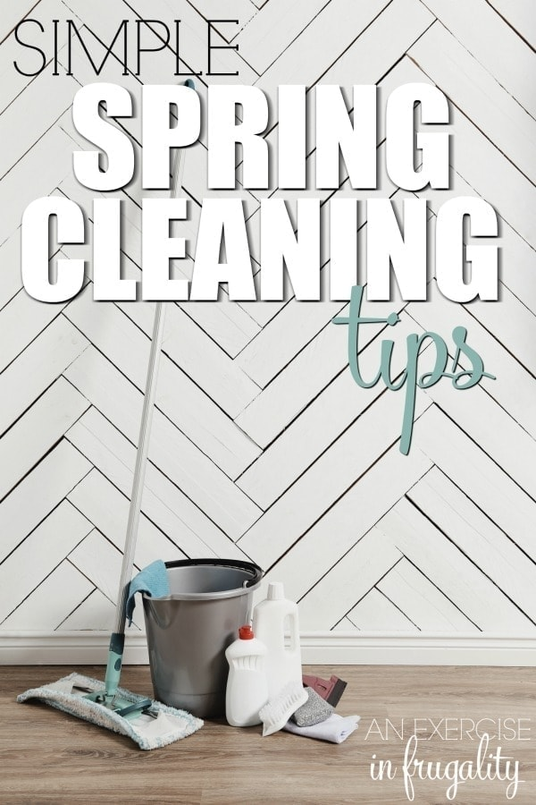 These Spring Cleaning Tips are simple, but so important when getting your house rid of all that winter muck and gunk. Tips for spring cleaning without losing your mind!
