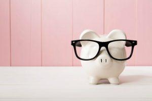 piggy bank student loan