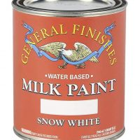 General Finishes Milk Paint, Snow White