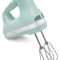 KitchenAid 5-Speed Ultra Power Hand Mixer, Ice Blue