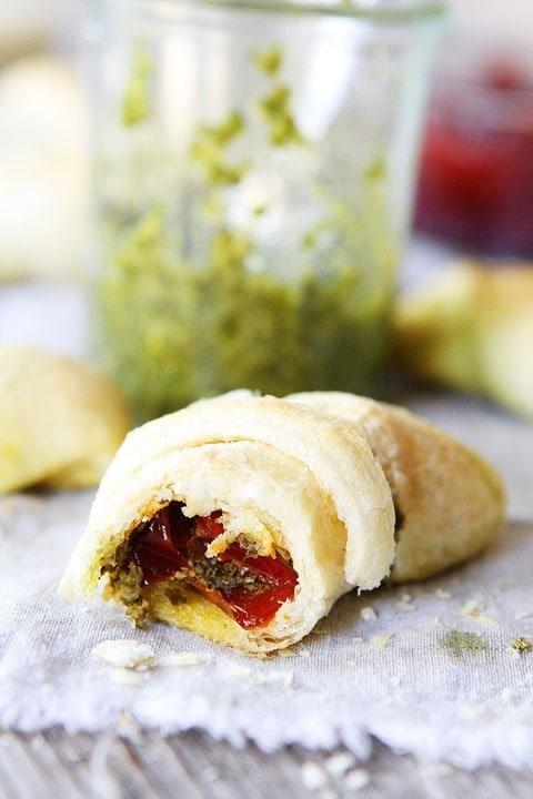 Pesto Crescent Roll Recipe