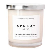 Spa Day Natural Soy Wax Candle